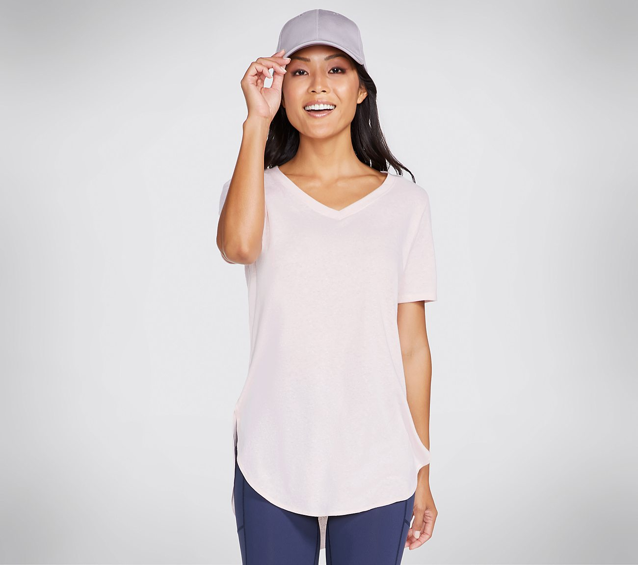 Skechers Apparel Blissful Tunic Tee Shirt