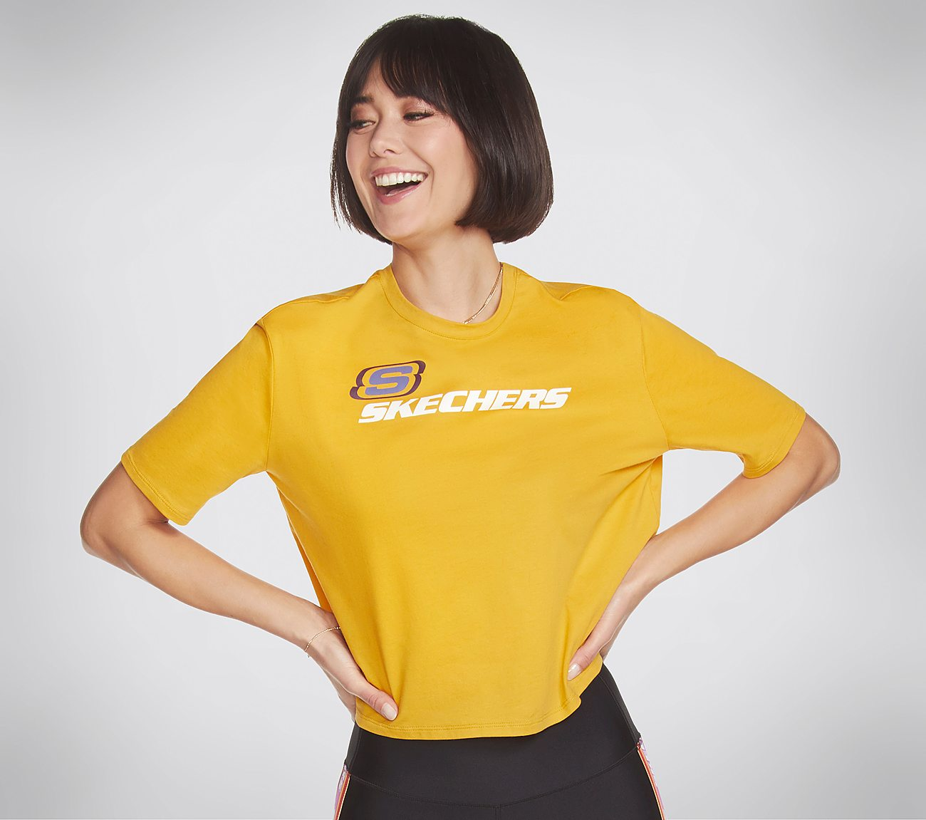 Skechers Apparel OG Cropped Tee Shirt