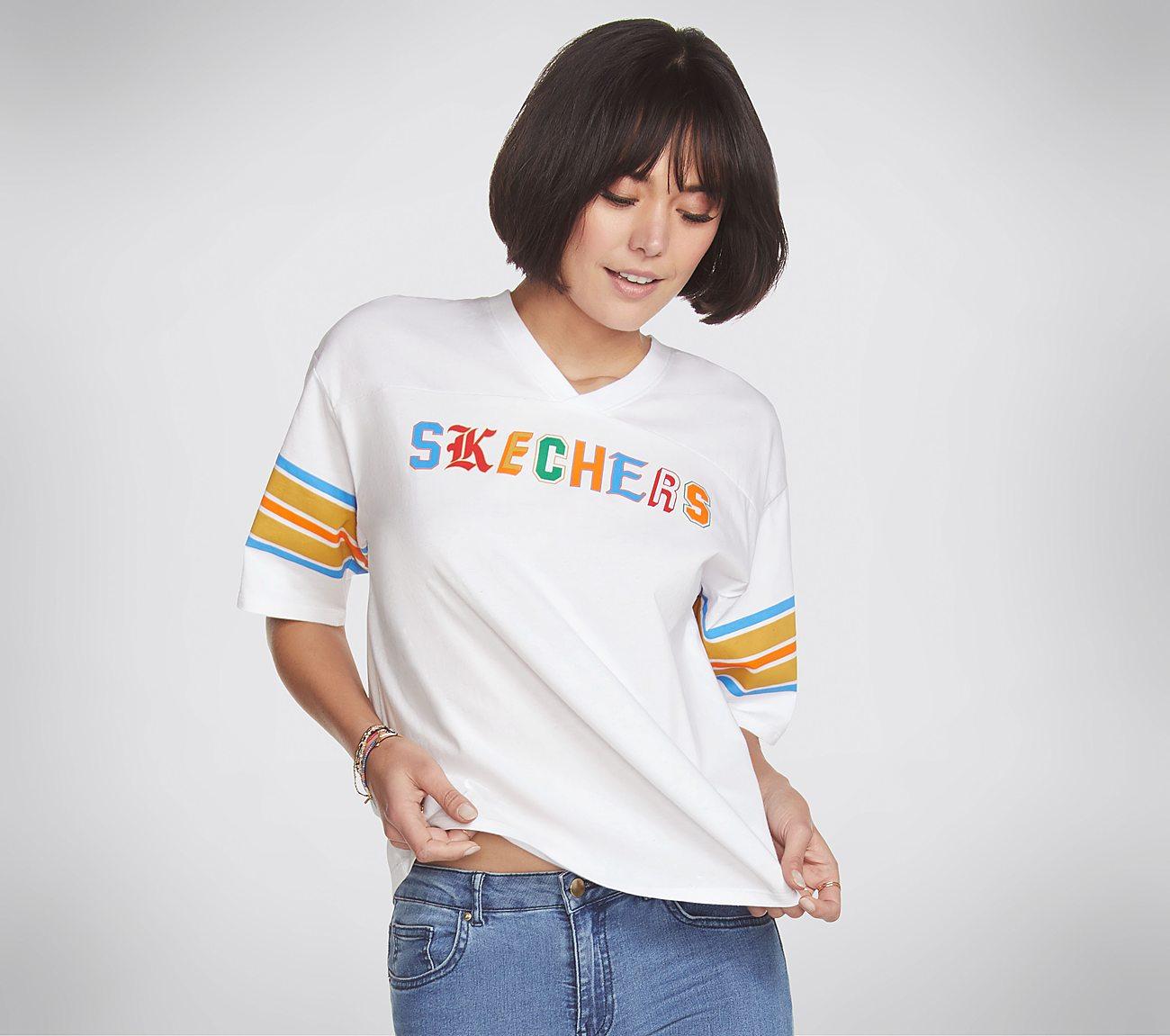 Skechers Apparel Primary Football Tee Shirt