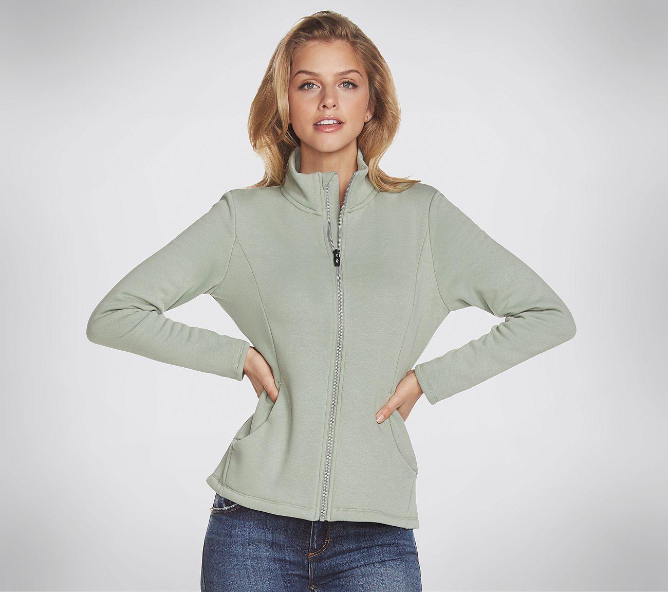 Skechers Apparel - Snuggle Fleece Full Zip Jacket