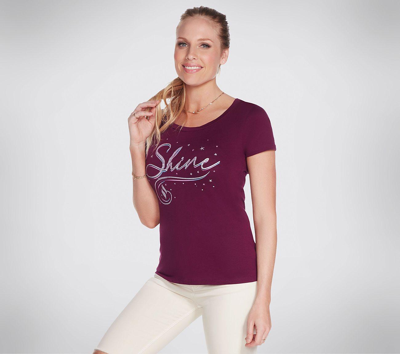 Skechers Apparel Shine Tee Shirt