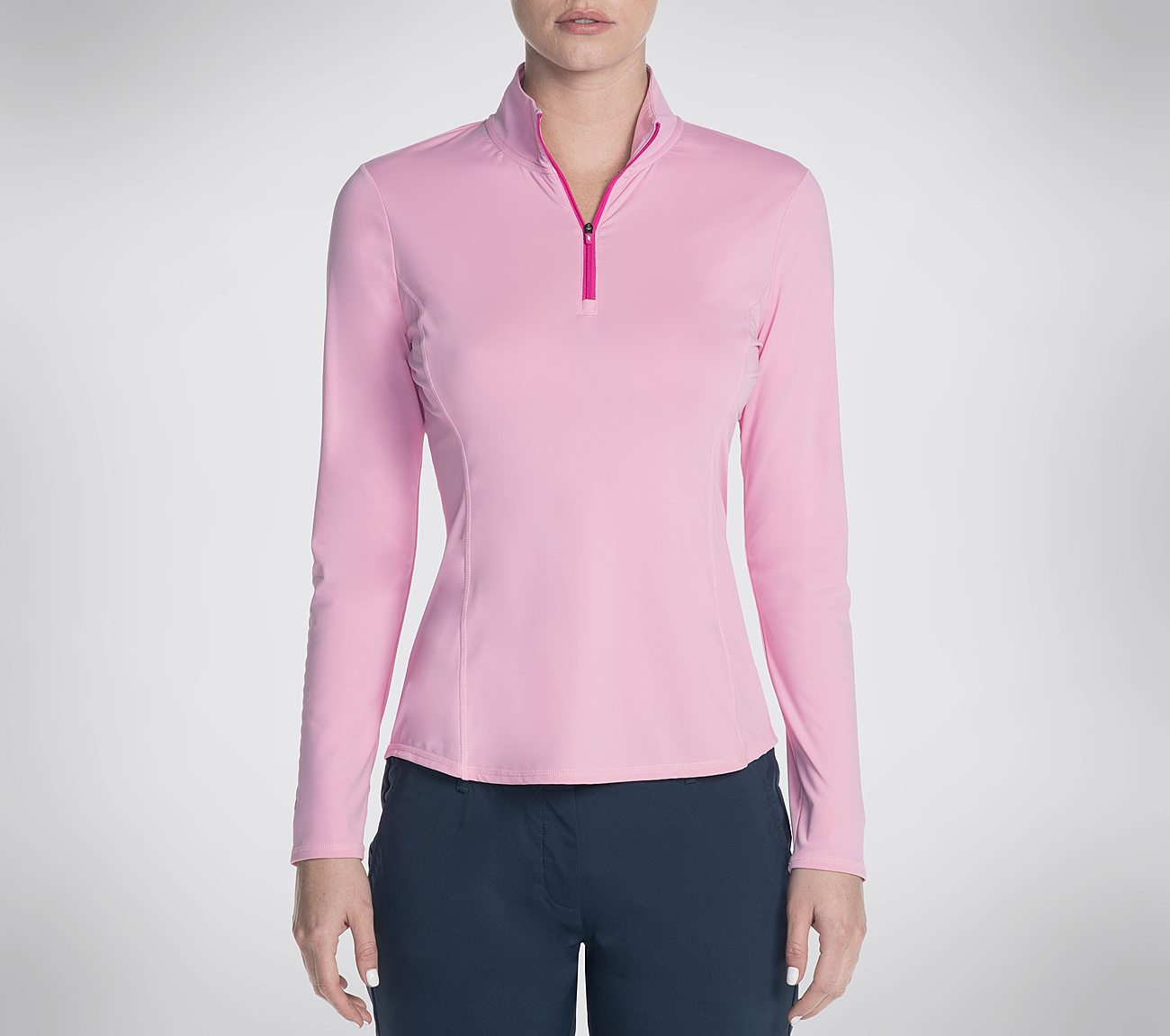 Skechers GO GOLF UPF Long Sleeve Pullover Top