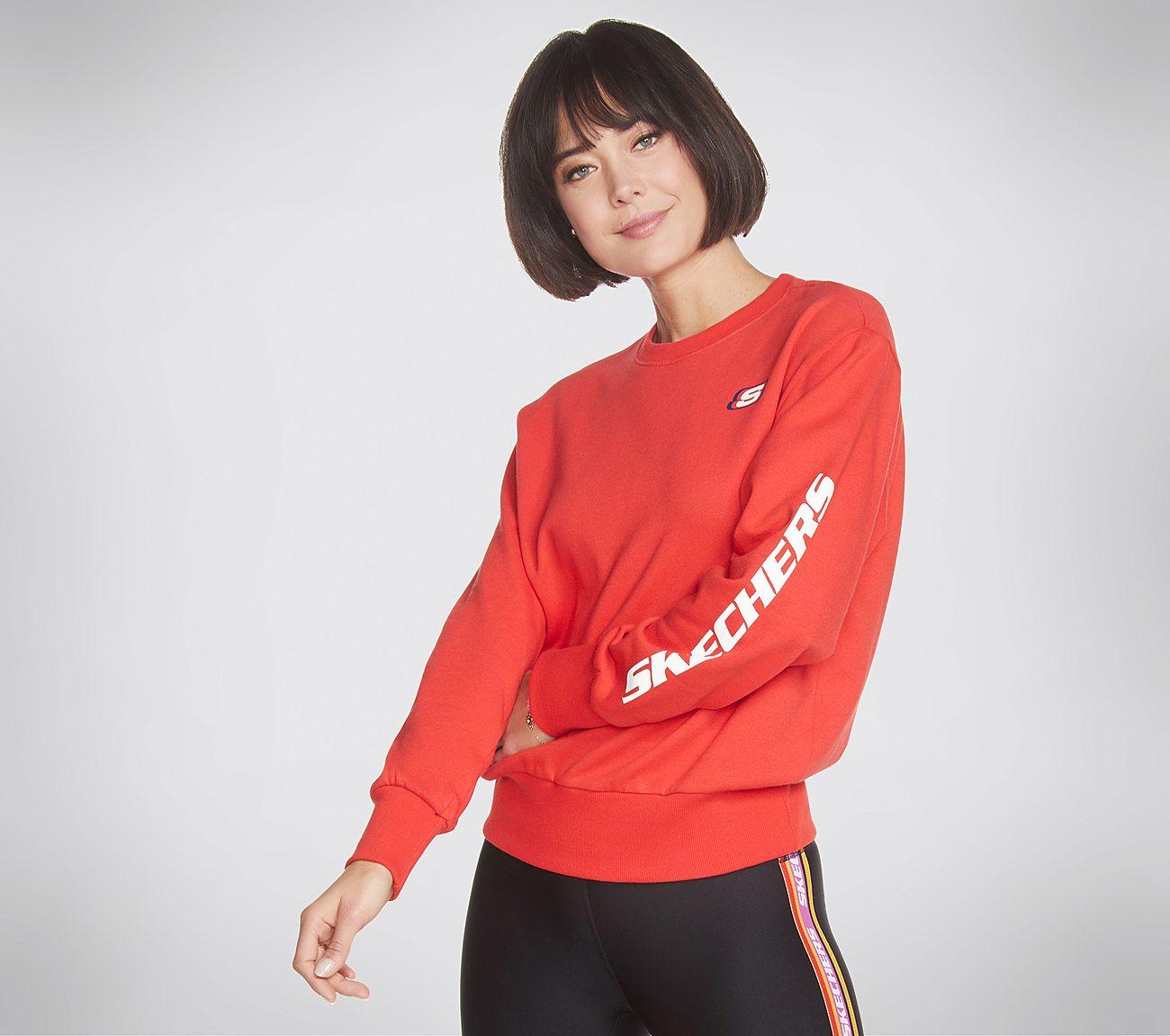 Skechers Apparel Heritage Crewneck Sweatshirt