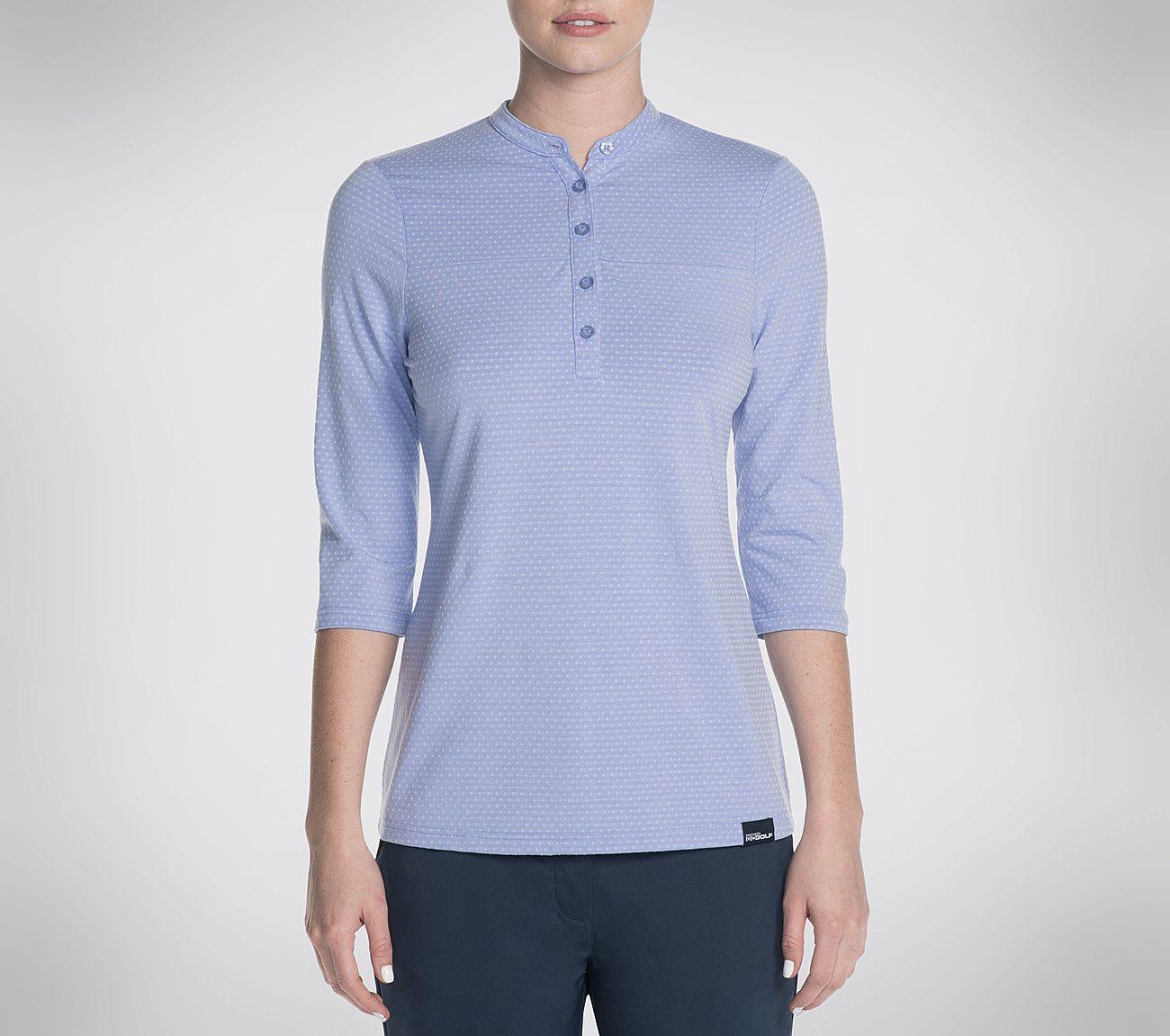 Skechers GO GOLF Birdseye Mid Sleeve Polo Shirt