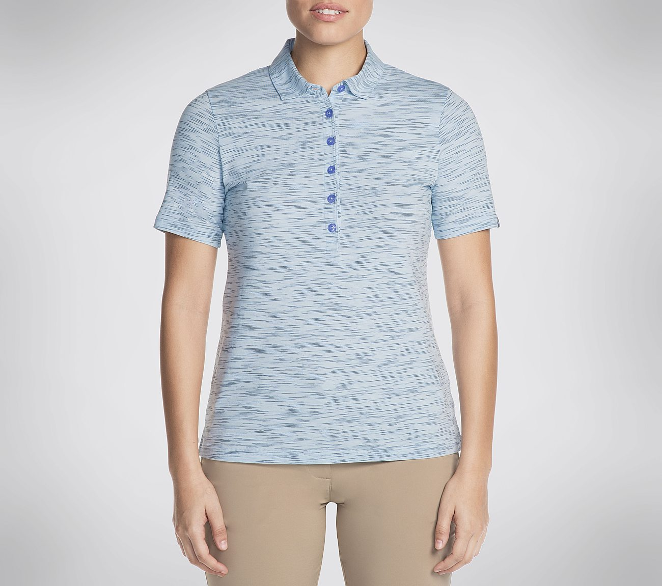 Skechers GO GOLF Space Dye Polo Shirt