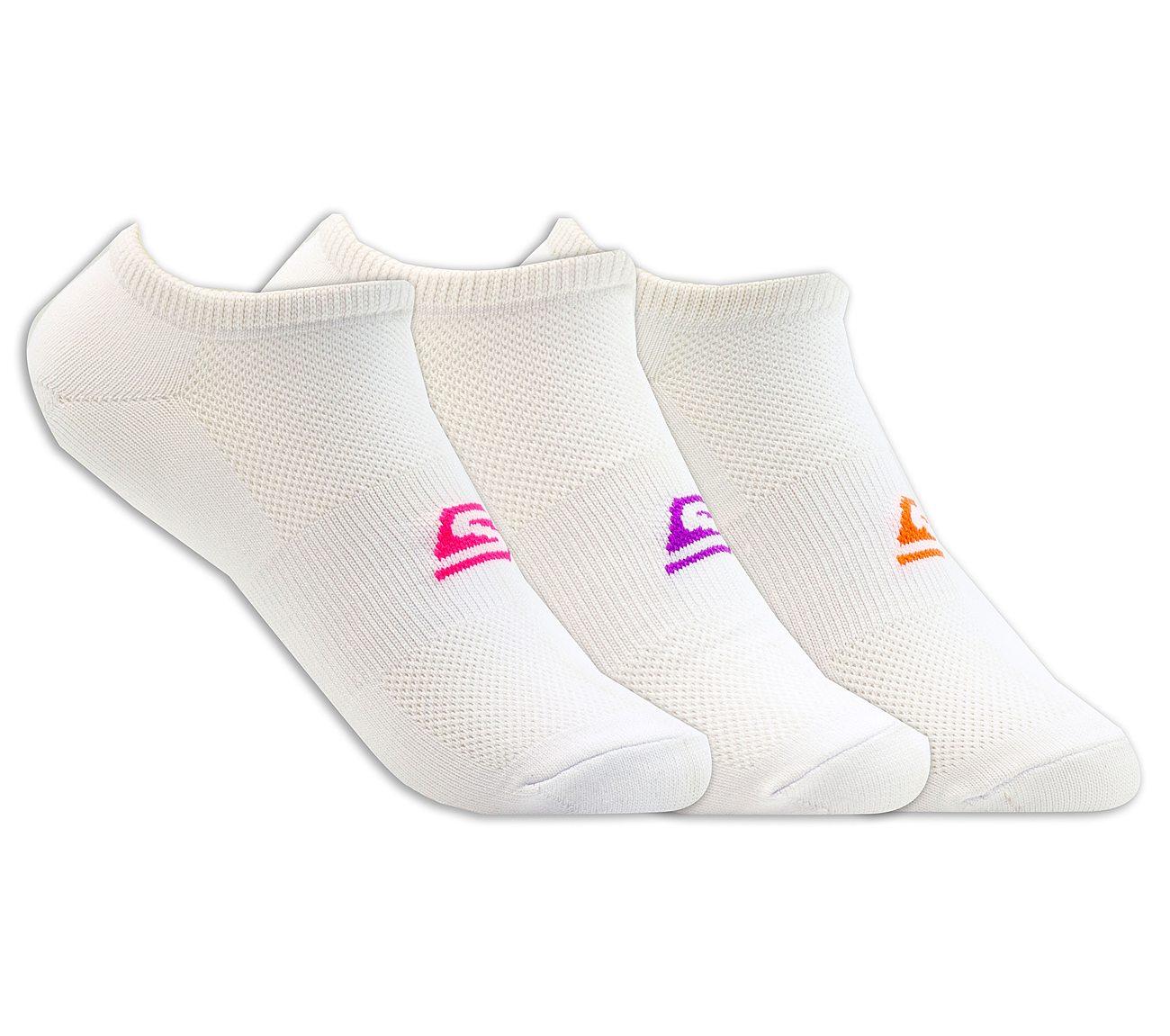 3 Pack No Show Stretch Socks