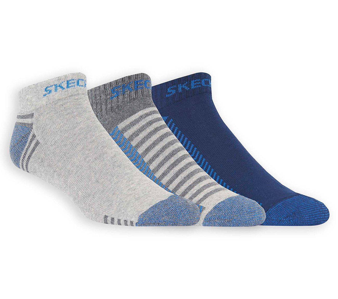 3 Pack Low Cut Terry Trainer Work Socks