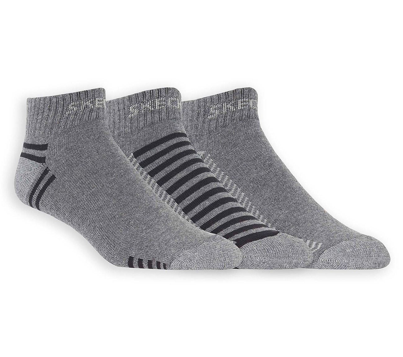 3 Pack Low Cut Terry Trainer Work Socks