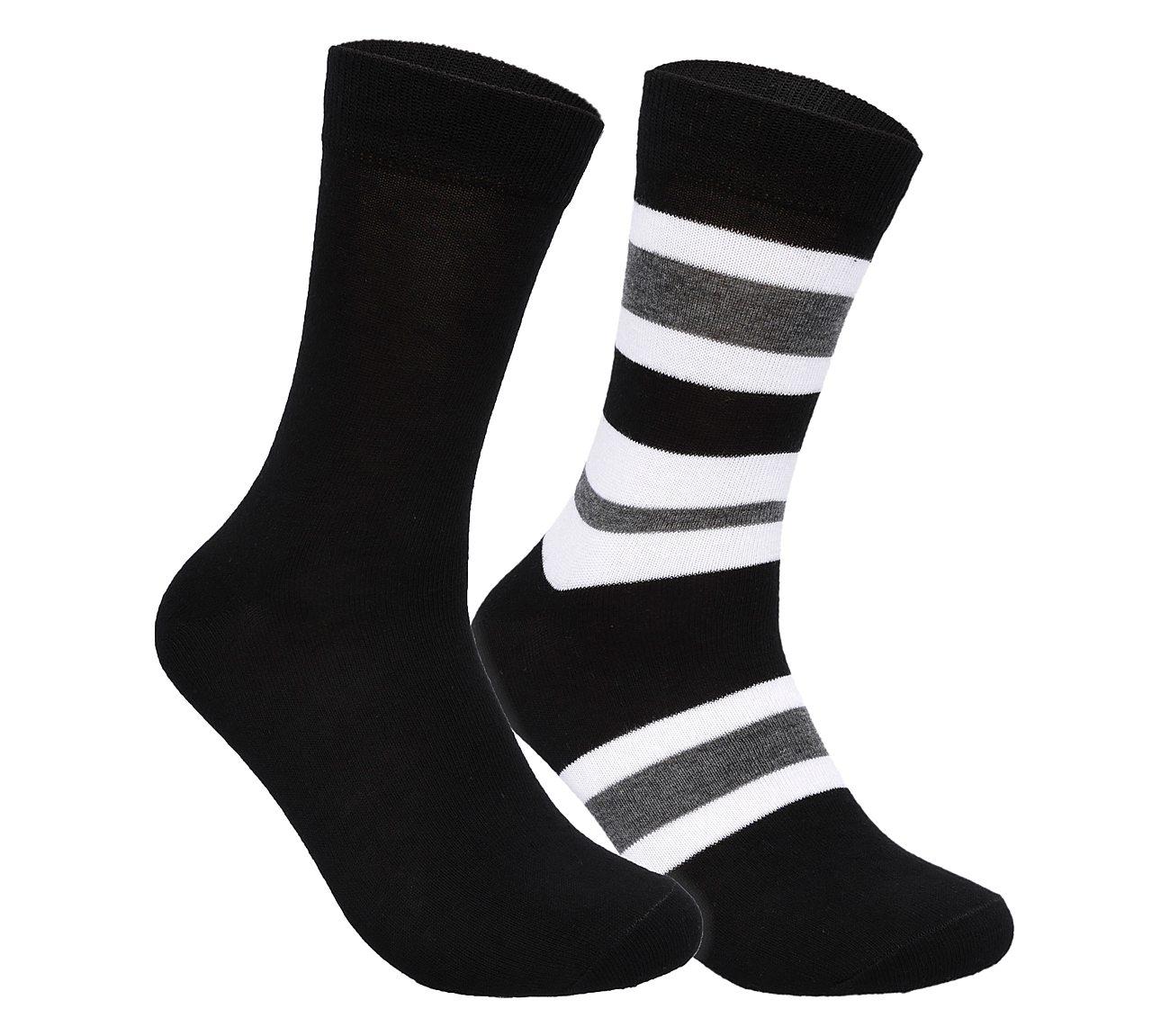 2 Pack Super Soft Crew Socks