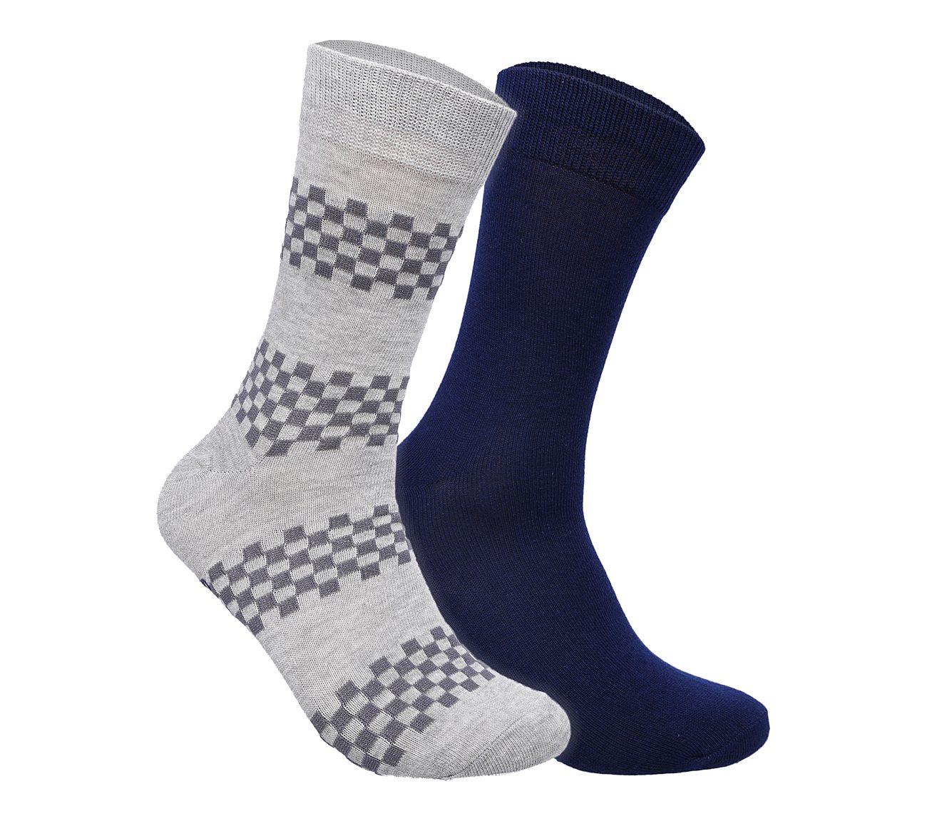 2 Pack Casual Crew Socks