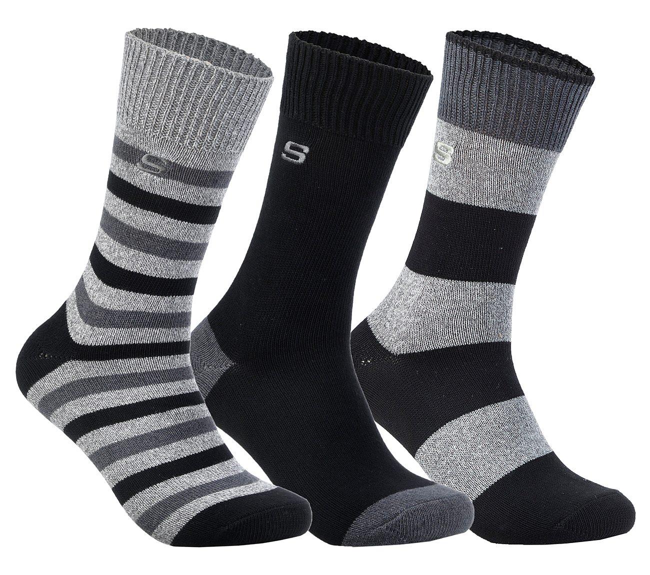 3 Pack Super Soft Crew Socks