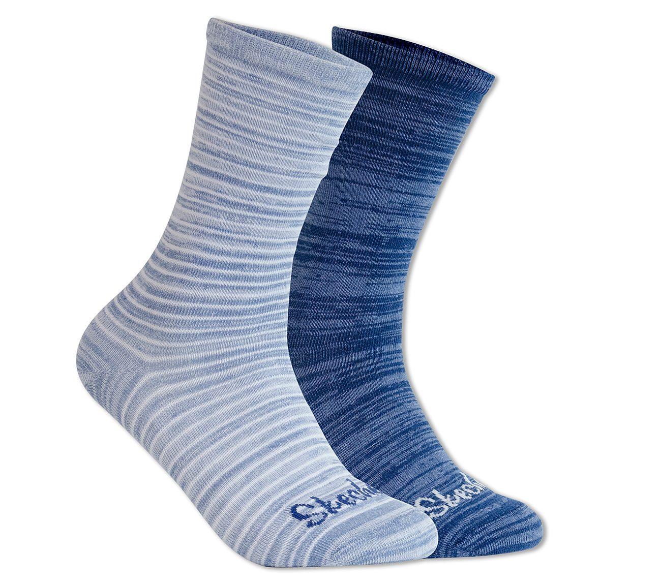 2 Pack Blues Crew Socks