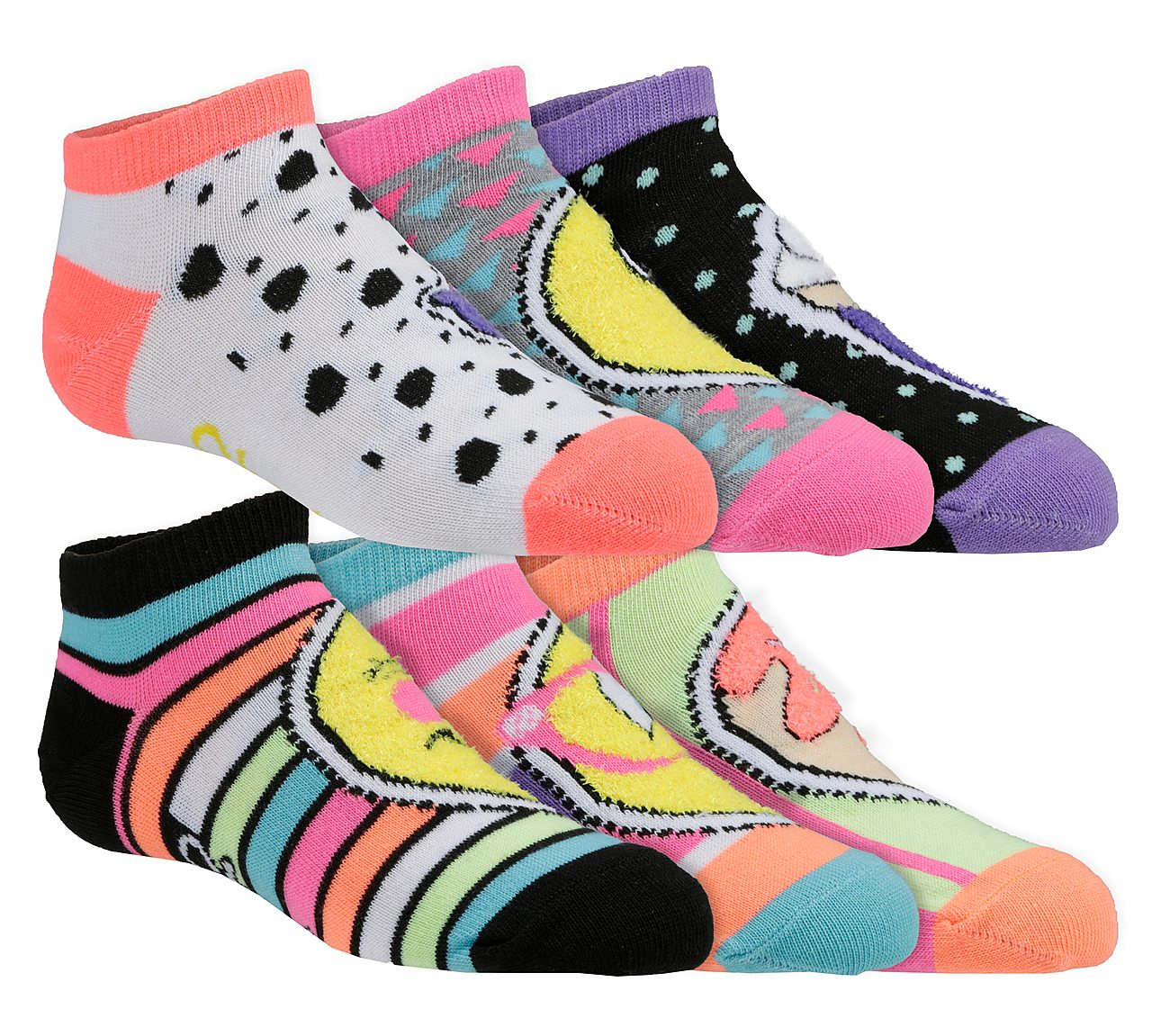 6 Pack Low Cut Cozy Socks