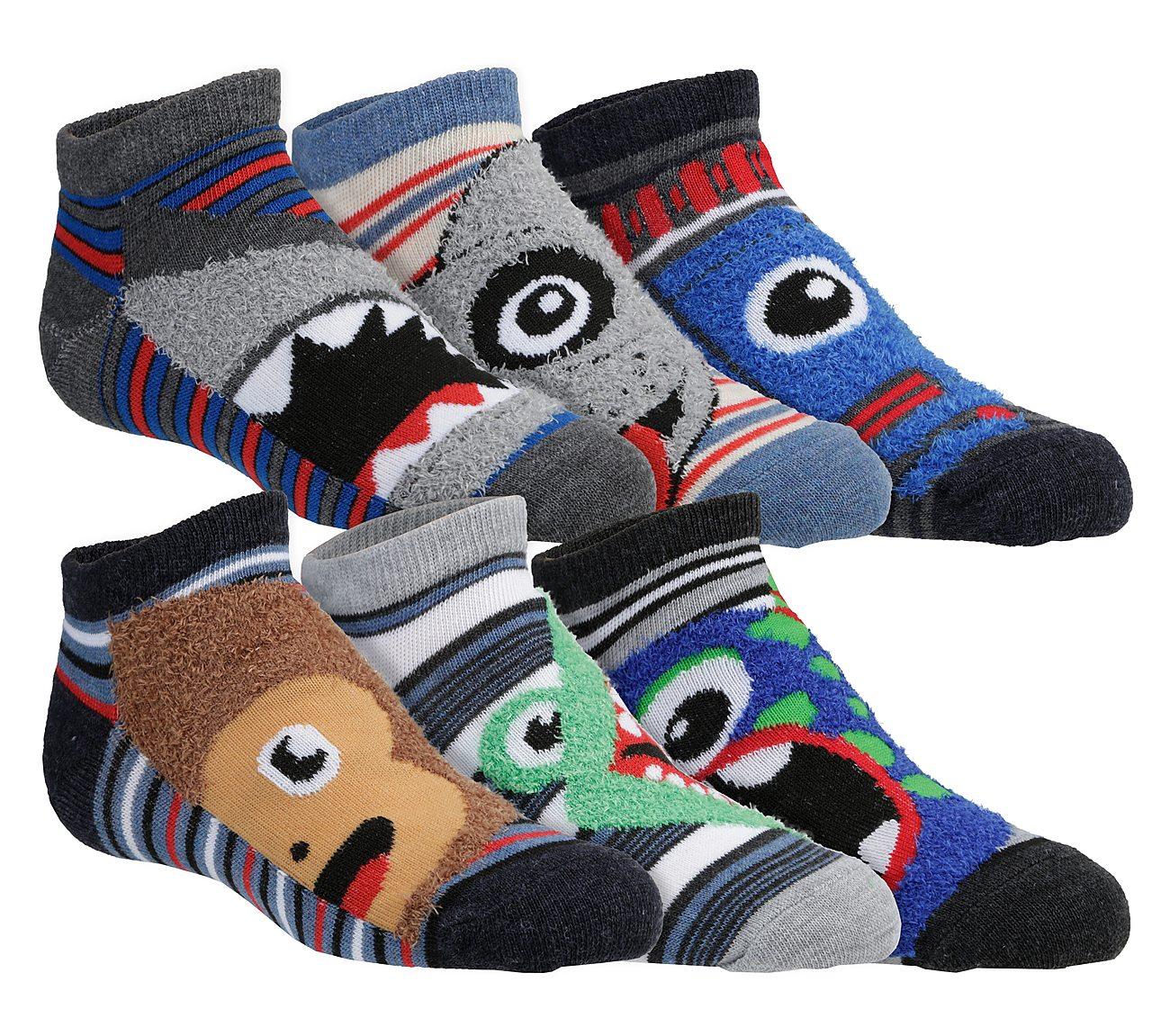 6 Pack Low Cut Cool Comfy Socks