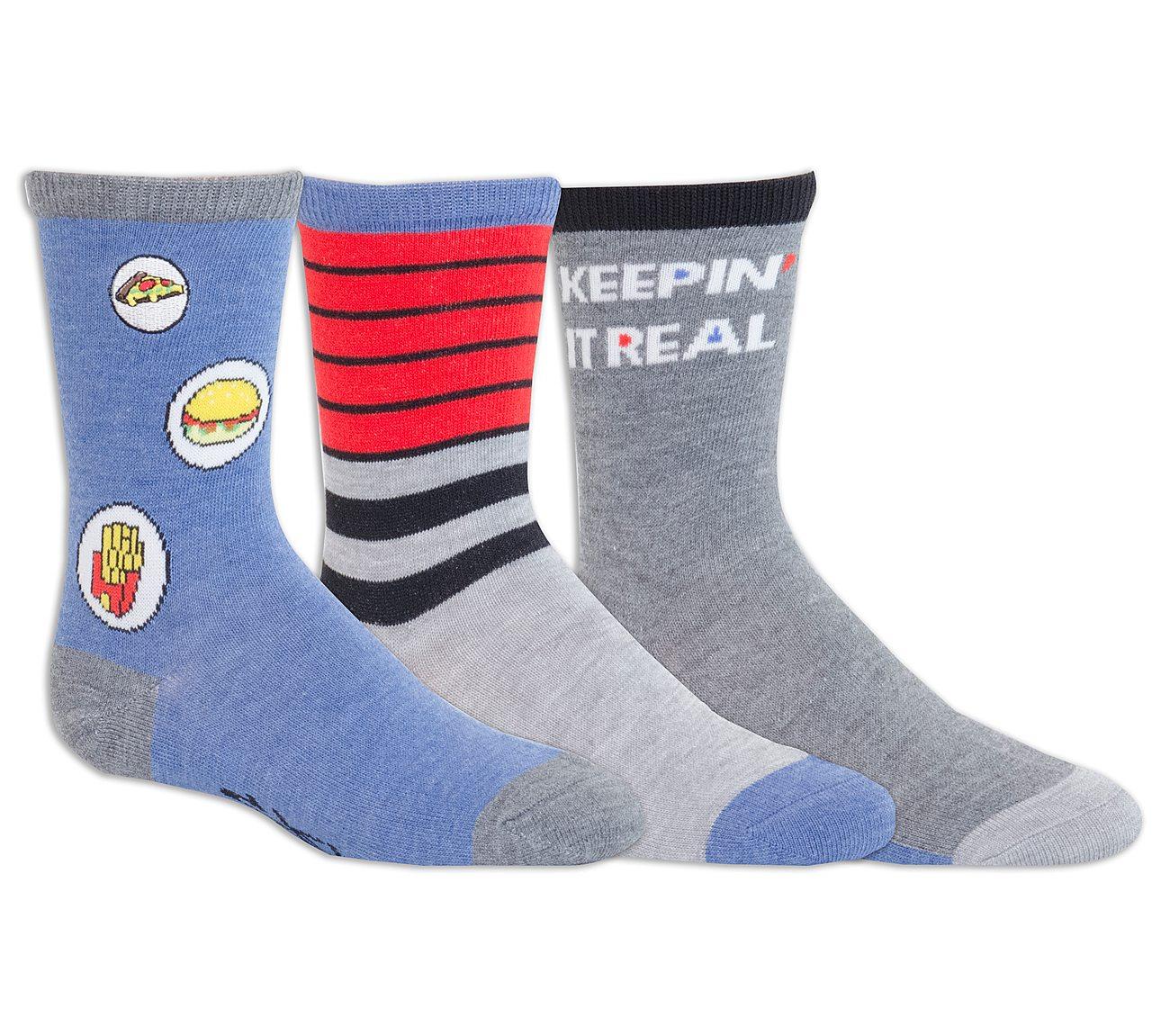 3 Pack Cool Crew Socks