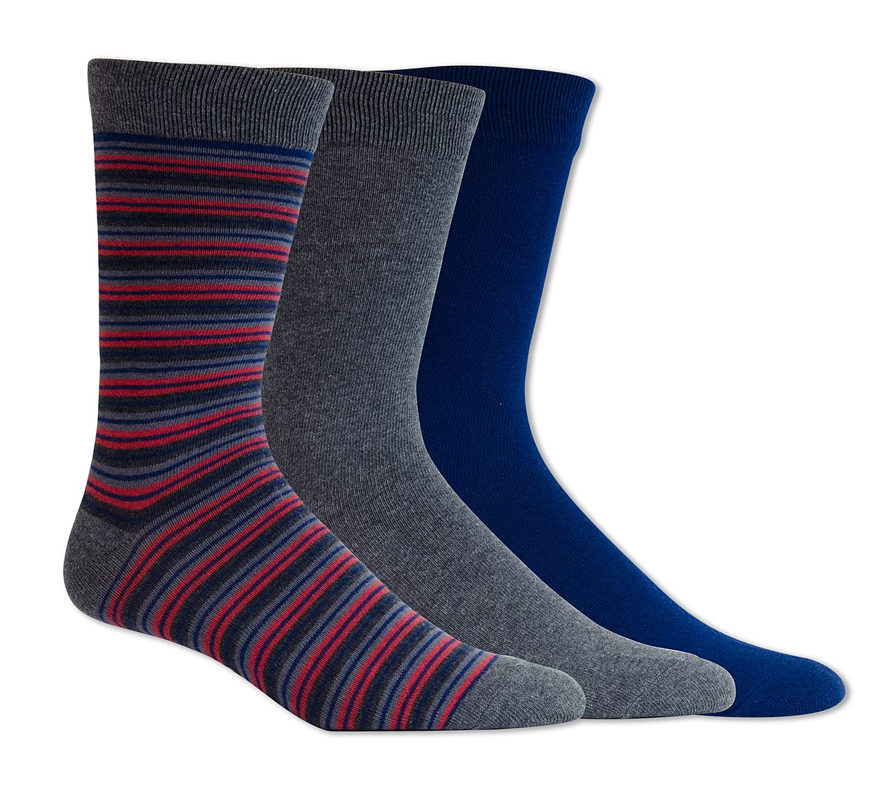 3 Pack Casual Crew Socks