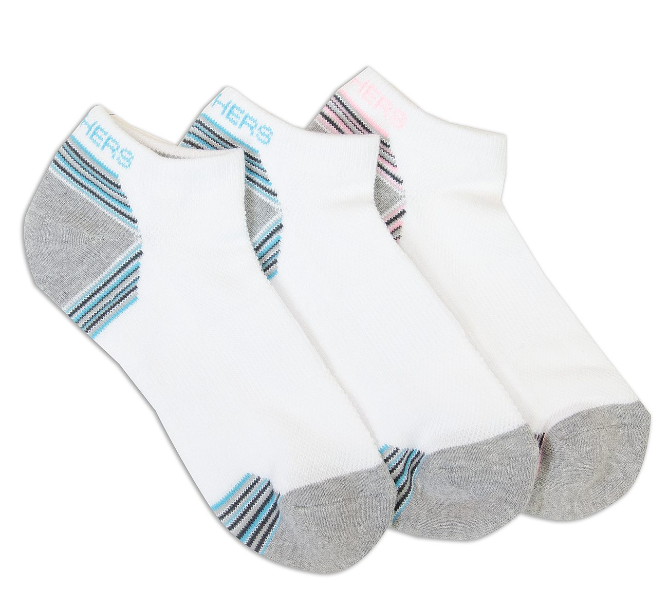 3 Pack Low Cut Half Terry Socks