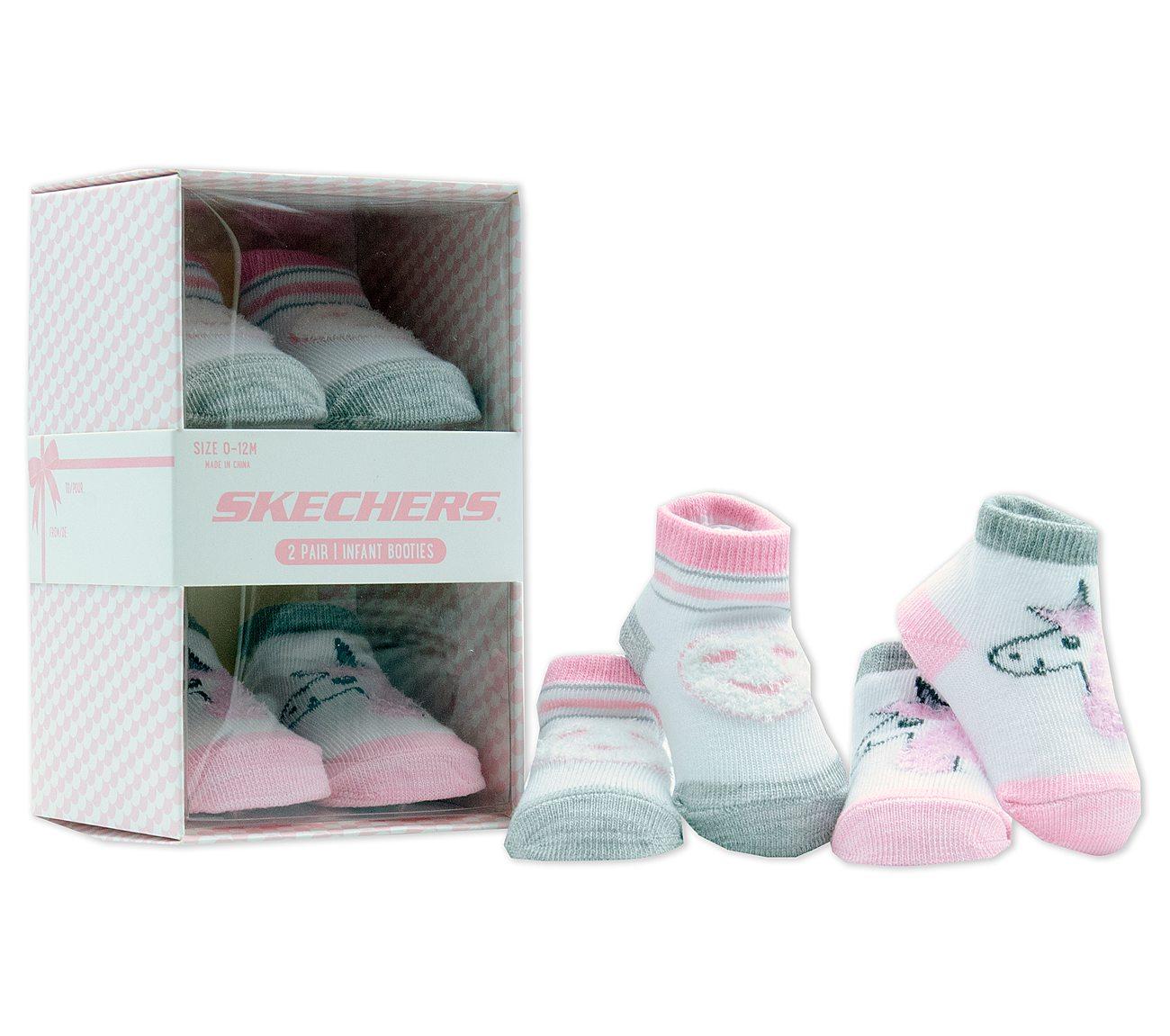 2 Pack Infant Sock Booties