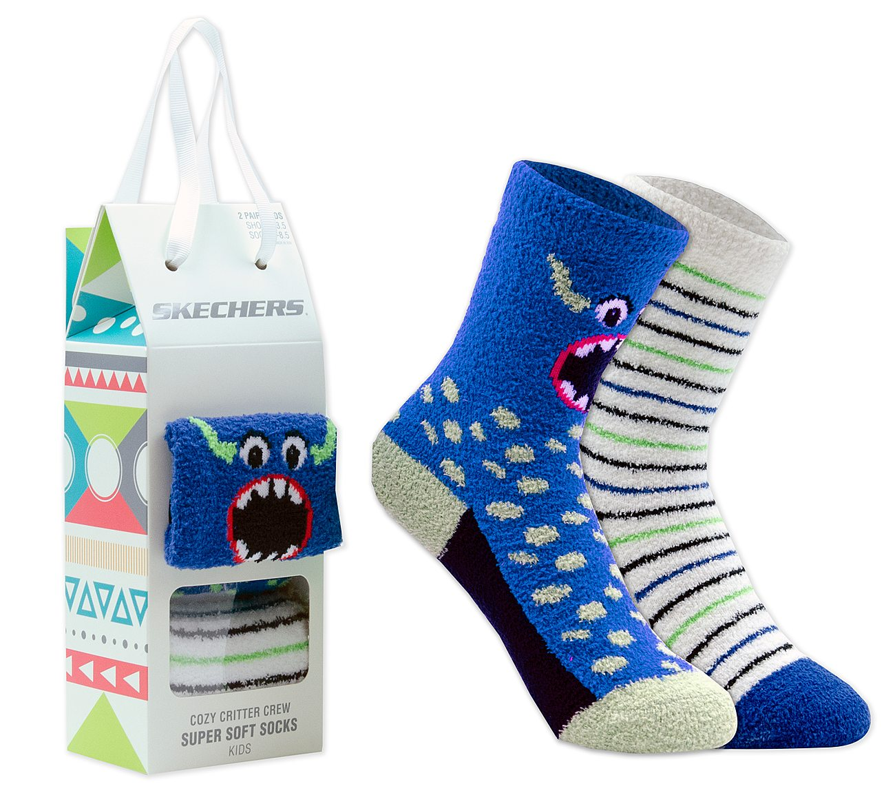 2 Pack Cozy Crew Socks