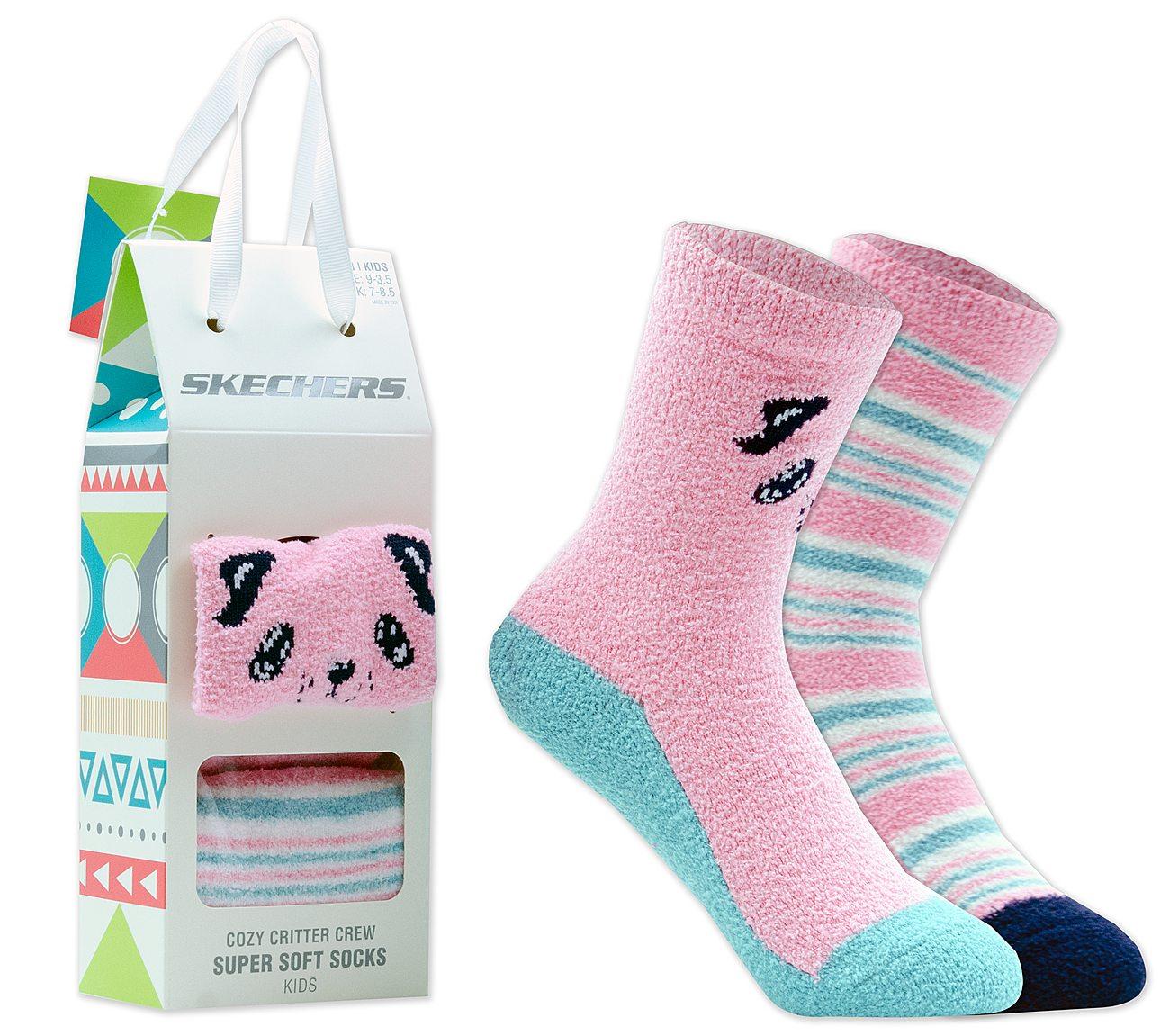 2 Pack Cozy Crew Puppy Socks