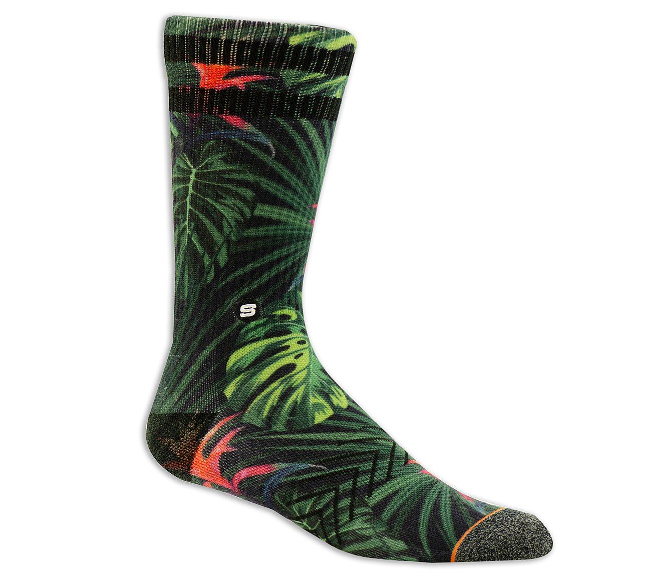 1 Pack Extended Terry Rainforest Sock
