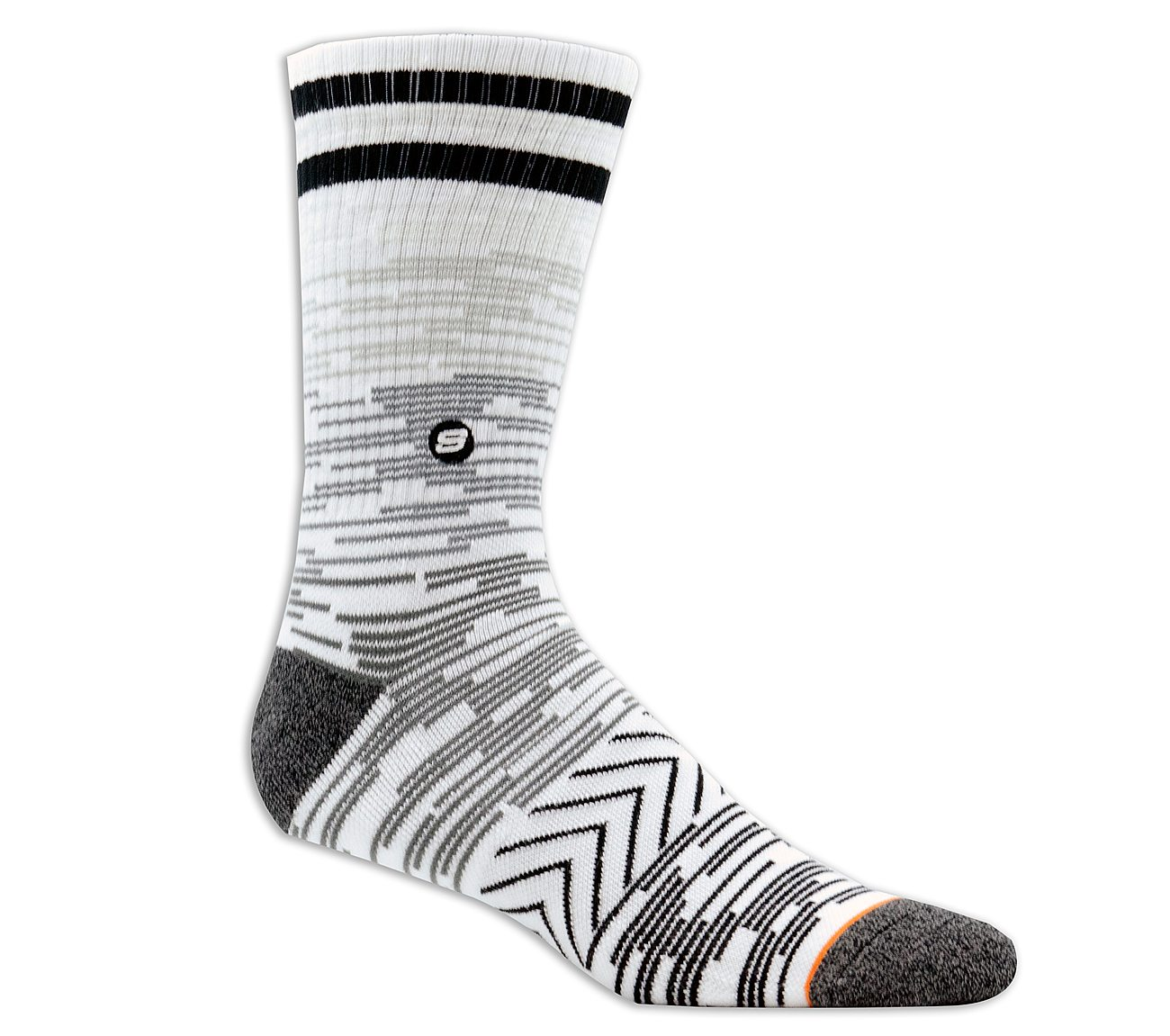 1 Pack Extended Terry Crew Socks