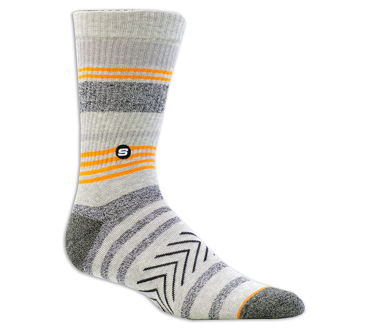 1 Pack Extended Terry Striped Sock