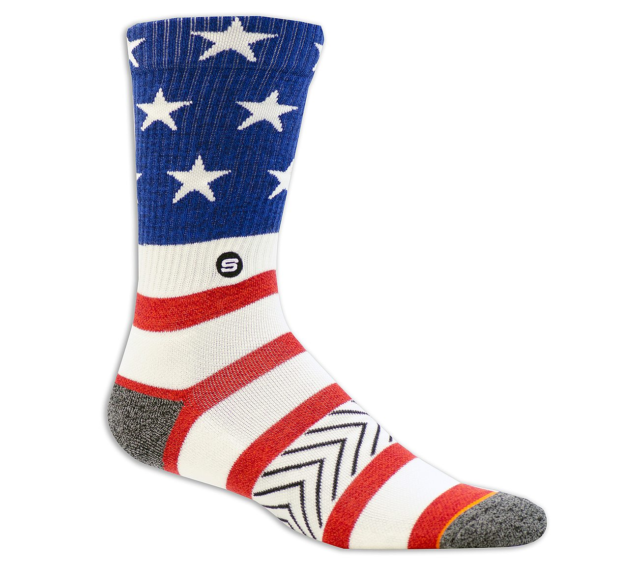 1 Pack Extended Terry America Sock
