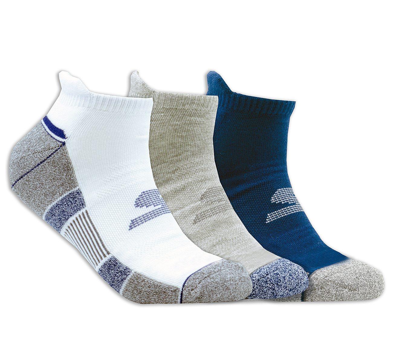 3 Pack Half Terry Low Cut Socks