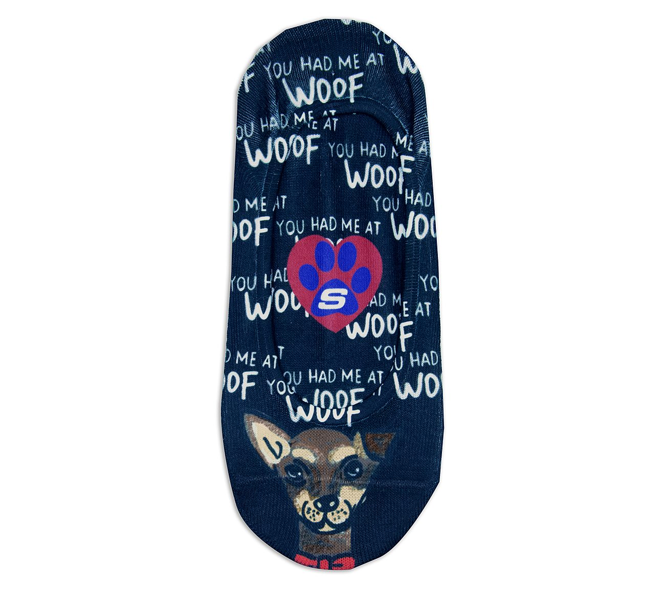 1 Pack BOBS Woof Liner Socks