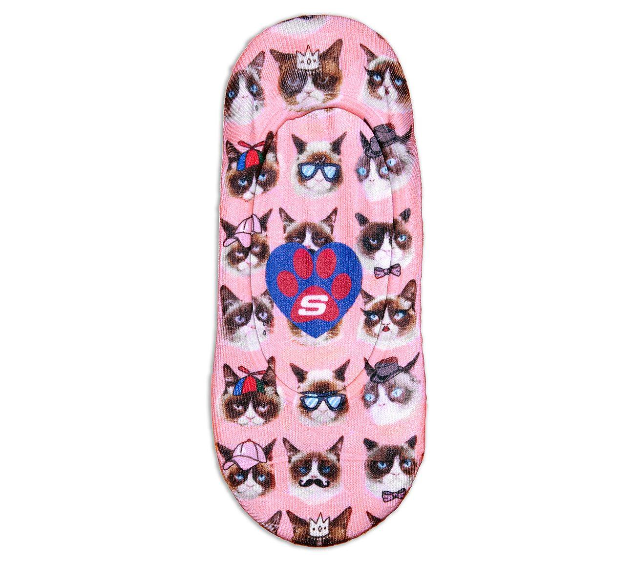 1 Pack BOBS Grumpy Cat Liner Socks