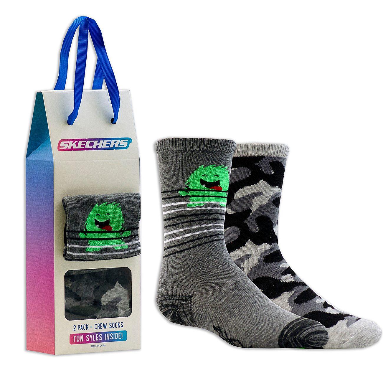 2 Pack Cozy Crew Camonster Socks
