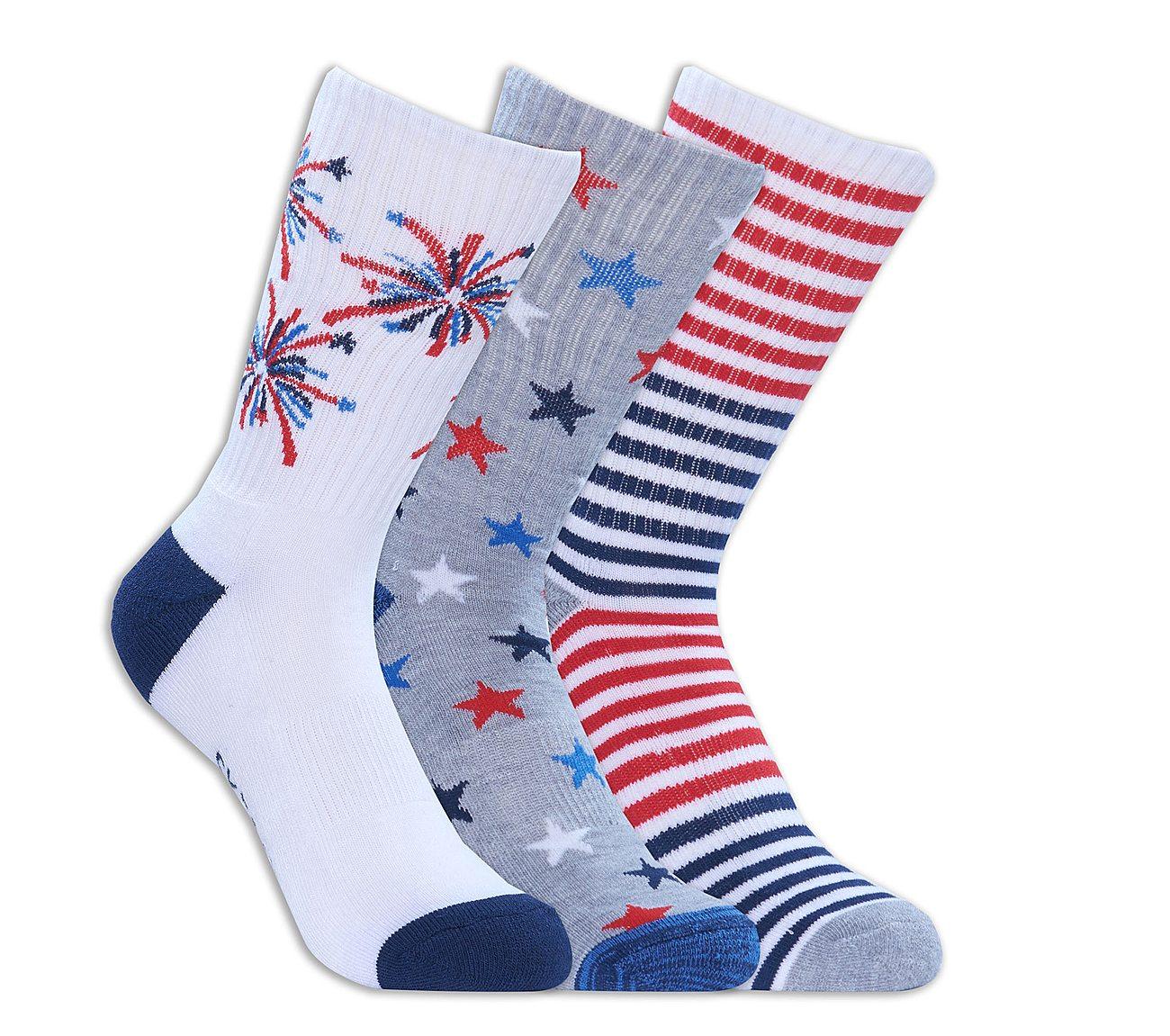 3 Pack Americana Crew Socks