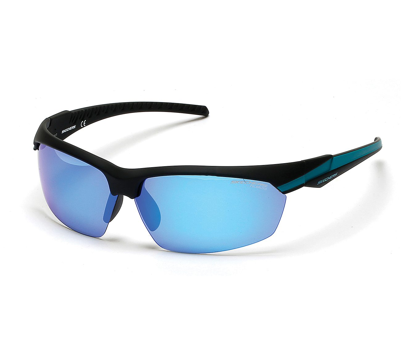 ecf2b32f0f0a Buy SKECHERS Sport Wrap Half Rim Sunglasses Accessories Shoes only ...