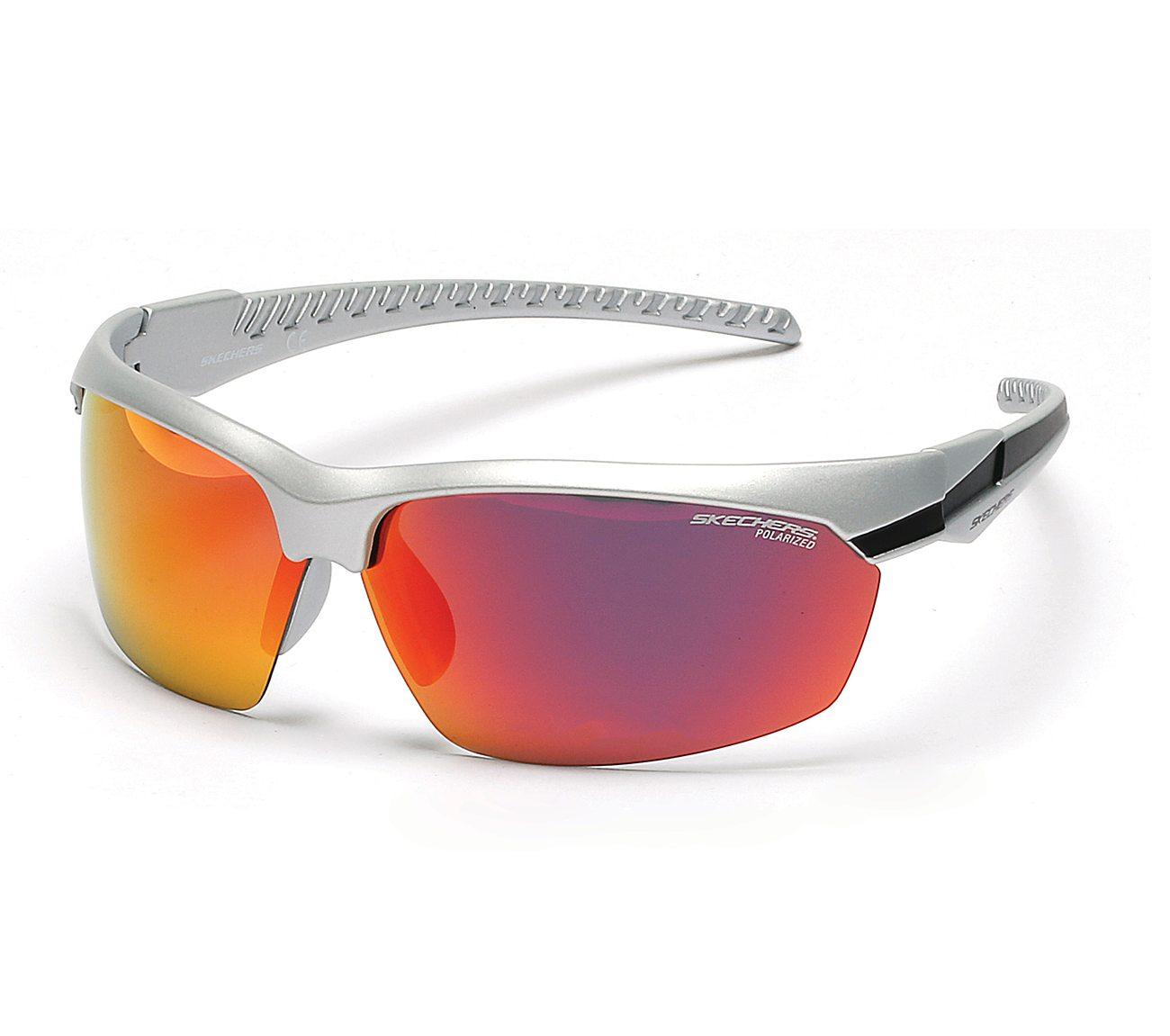 Sport Wrap Half Rim Sunglasses | Tuggl