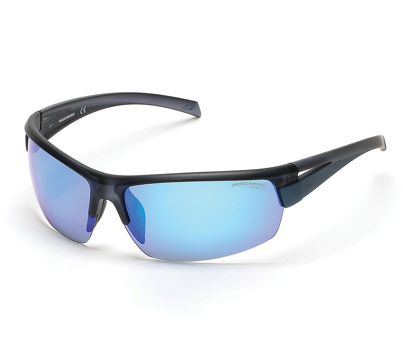 2bd94e6d9cc3 Buy SKECHERS Sport Wrap Semi Rim Sunglasses Accessories Shoes only ...