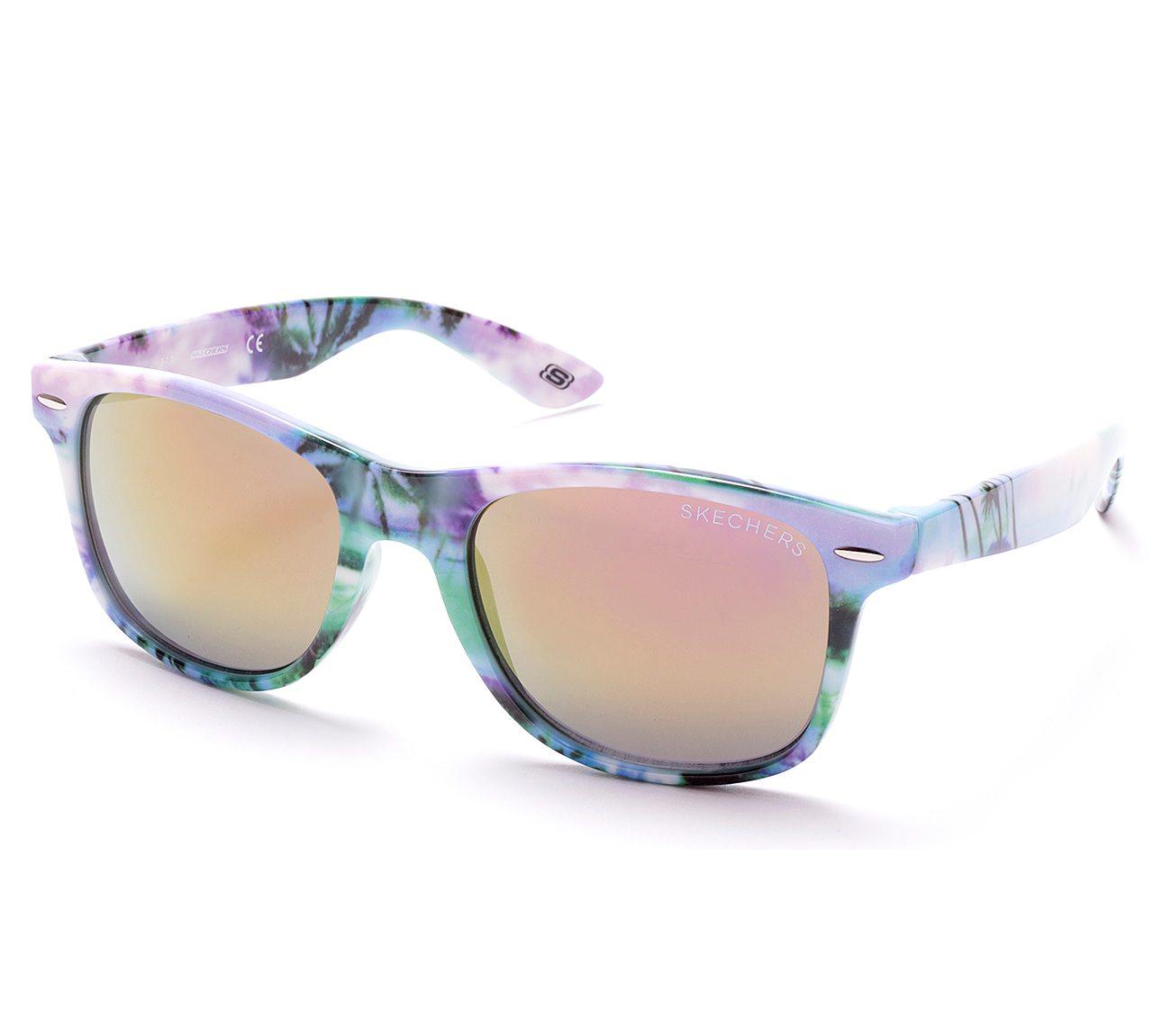 Adult Print Wayfarer Sunglasses