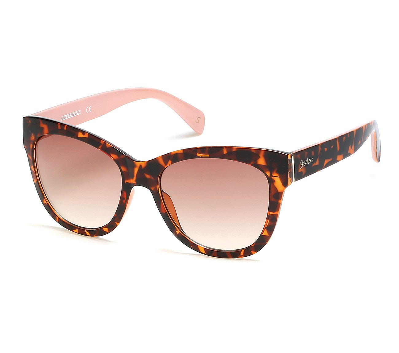 Full Plastic Cat Eye Sunglasses
