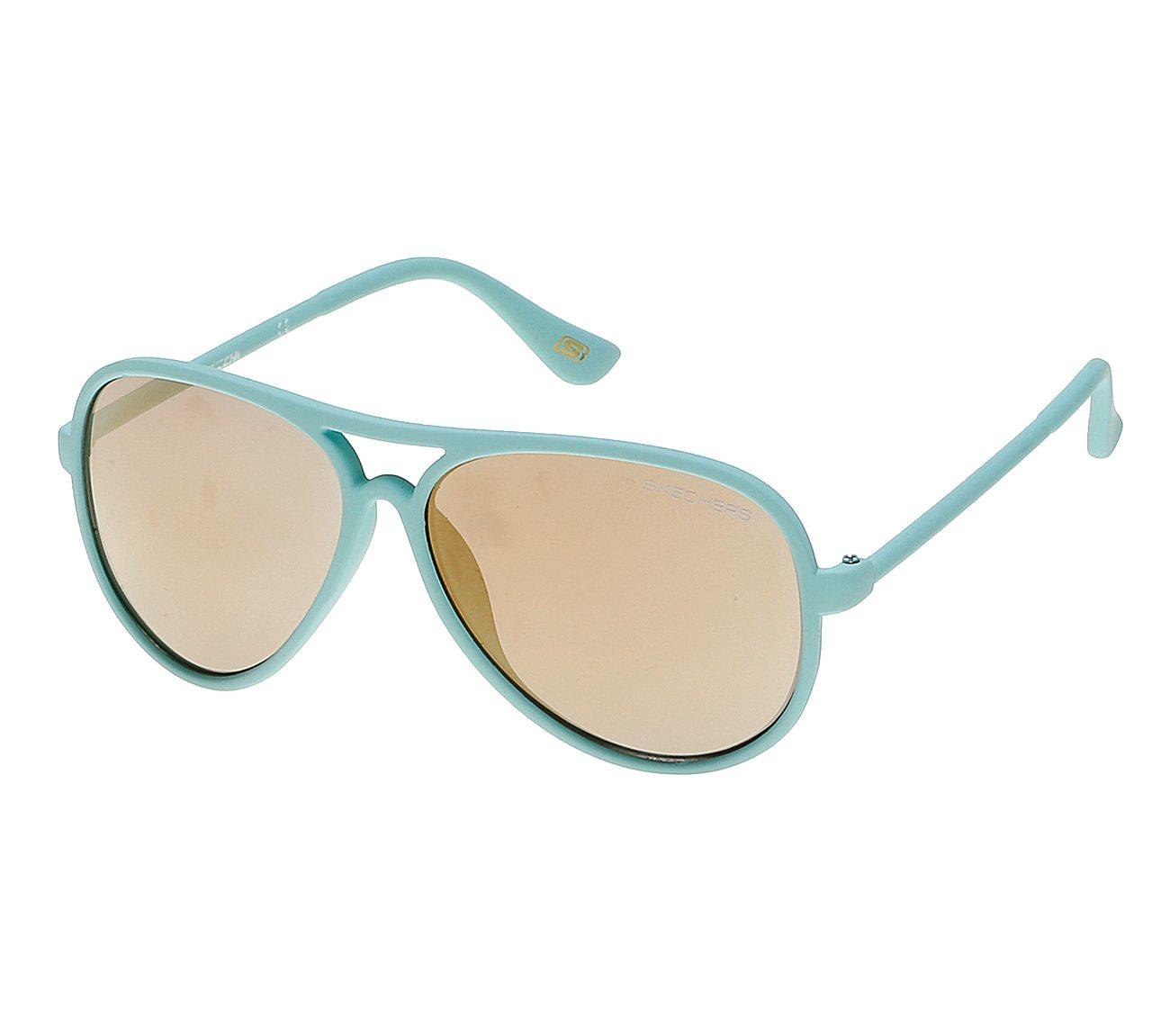 Color Aviator Sunglasses