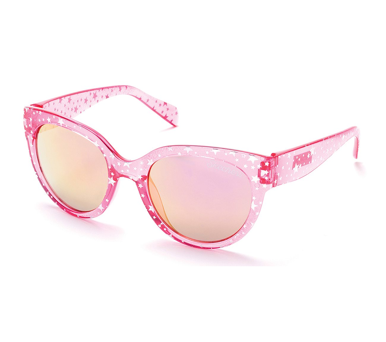 Plastic Cat Eye Star Sunglasses