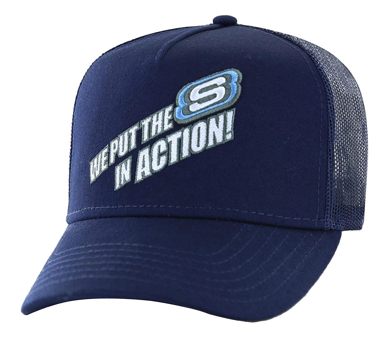 S In Action Trucker Hat