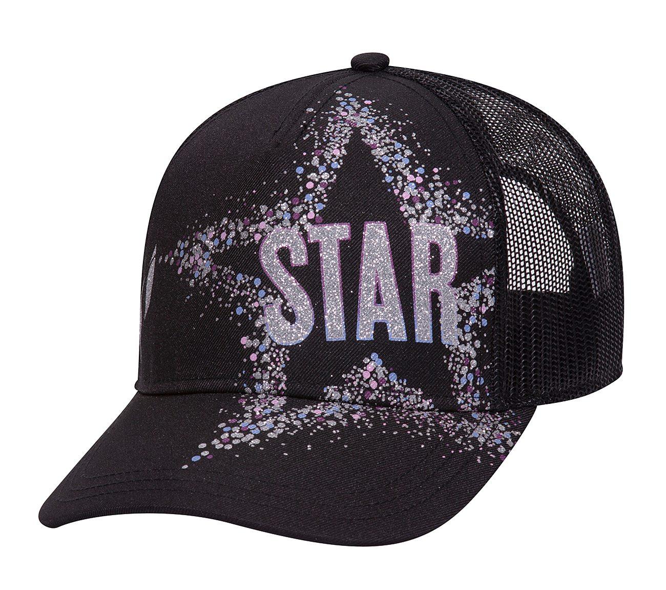 Star Glitter Trucker Hat