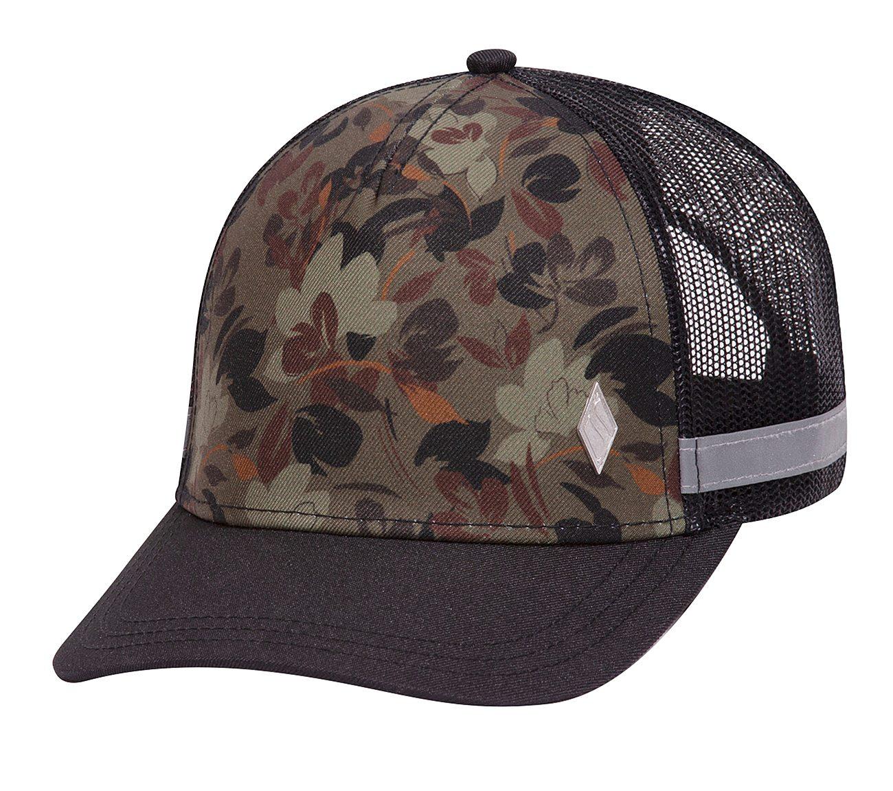 Camo Floral Trucker Hat