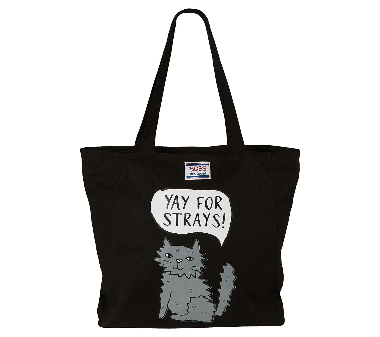 BOBS Yay for Strays Tote Bag